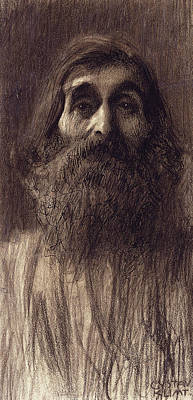 Portrait Of A Bearded Man Poster