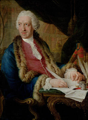 Portrait Of A Gentleman, 1767 Oil On Canvas Poster