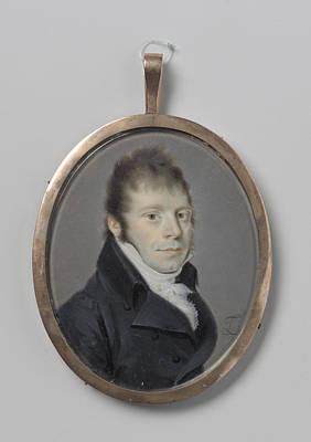 Portrait Of A Man, Leonardus Temminck, 1763 - 1813 Poster by Litz Collection