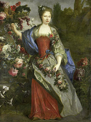Portrait Of A Woman, According To Tradition Marie Louise Poster