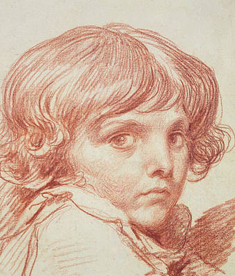 Portrait Of A Young Boy Poster by Claude Lorrain