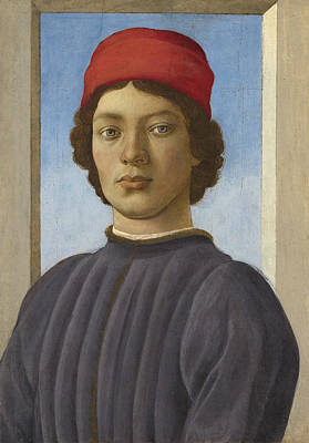 Portrait Of A Youth Poster by  Filippino Lippi