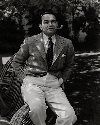 Portrait Of Actor Edward G. Robinson Poster by William Bolin