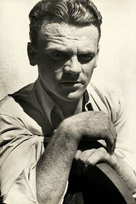 Portrait Of Actor James Cagney Poster