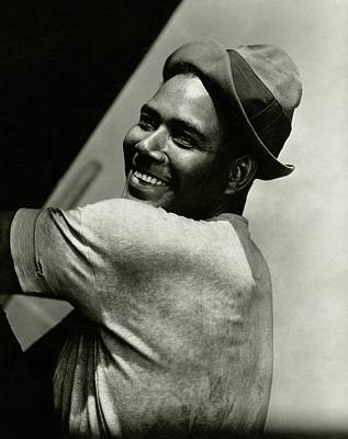 Portrait Of Actor Rex Ingram Poster by Lusha Nelson