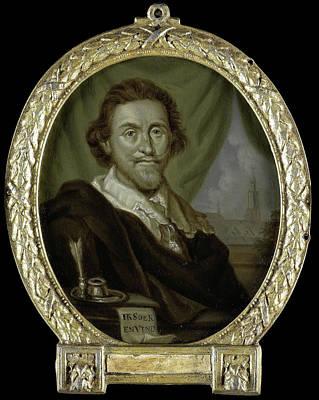 Portrait Of Adriaen Pietersz Van De Venne Poster