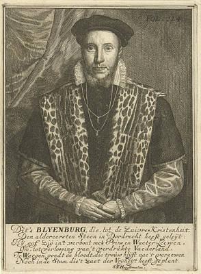 Portrait Of Adriaen Van Blijenburgh, Samuel Van Hoogstraten Poster by Samuel Van Hoogstraten