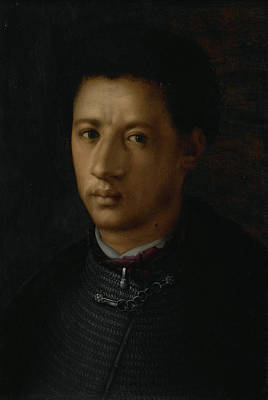 Portrait Of Alessandro De Medici, Anonymous Poster by Litz Collection
