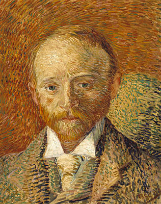 Portrait Of Alexander Reid 1887 Poster by Vincent van Gogh