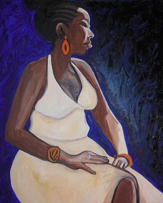 Portrait Of An Ethiopian Woman Poster