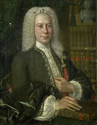 Portrait Of An Historian, Anonymous Poster by Litz Collection