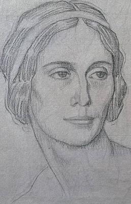 Portrait Of Anna Pavlova Poster