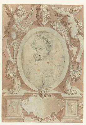 Portrait Of B. Spranger Poster by Jan Harmensz. Muller
