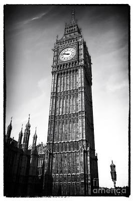 Portrait Of Big Ben Poster
