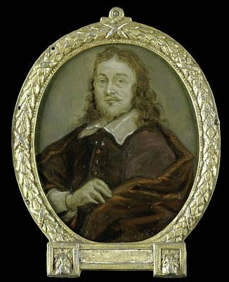 Portrait Of Bonaventura Peeters I, Painter Poster