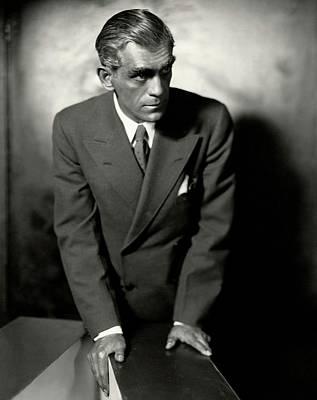 Portrait Of Boris Karloff Poster by Ben Pinchot