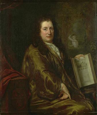 Portrait Of Caspar Commelin, Bookseller, Newspaper Poster