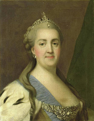 Portrait Of Catherine II, Empress Of Russia Catherine Poster