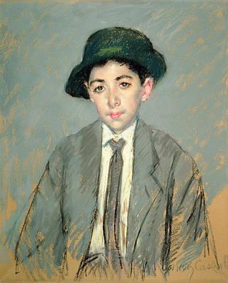 Portrait Of Charles Dikran Kelekian Poster by Mary Stevenson Cassatt