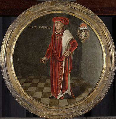 Portrait Of Charles The Bold, Duke Of Burgundy Poster