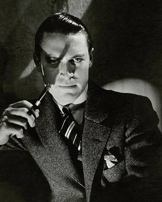 Portrait Of Chester Morris Poster by Edward Steichen