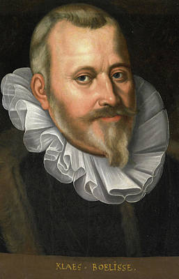 Portrait Of Claes Allertsz Boelens, Bailiff Of De Hoorn Poster by Litz Collection