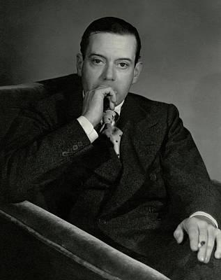 Portrait Of Cole Porter Poster by Horst P. Horst