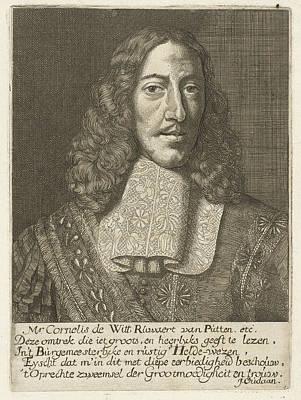 Portrait Of Cornelis De Witt, Samuel Van Hoogstraten Poster by Samuel Van Hoogstraten