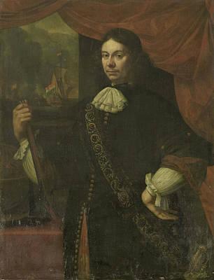 Portrait Of Cornelis Jacobsz De Boer, Captain In The Navy Poster