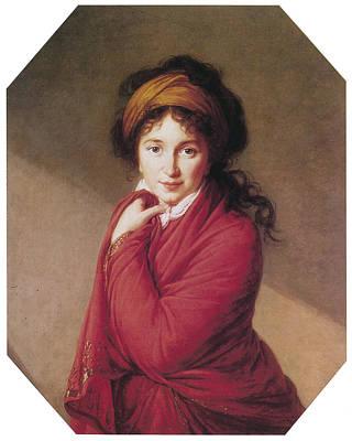 Portrait Of Countess Golovin Poster