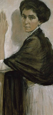 Portrait Of Countess Olsuphyev Poster