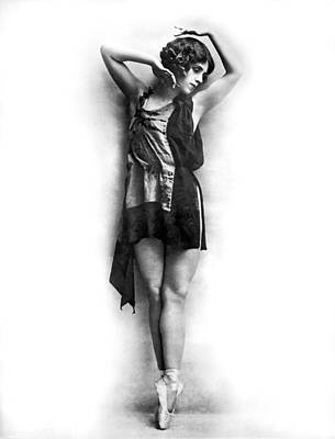 Portrait Of Dancer Agnes Boone Poster by Underwood Archives