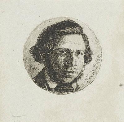 Portrait Of David Block, Jan Weissenbruch Poster