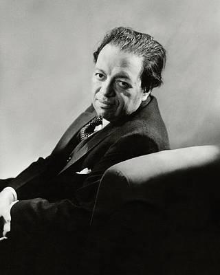 Portrait Of Diego Rivera Poster