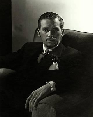 Portrait Of Douglas Fairbanks Jr Poster by Horst P. Horst