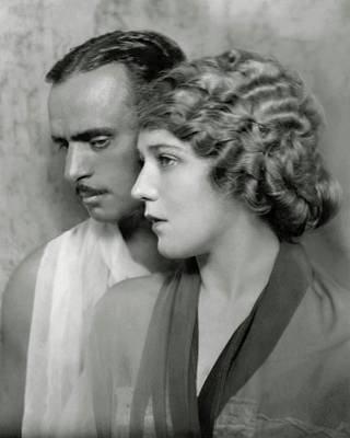 Portrait Of Douglas Fairbanks St. And Mary Poster by Nicholas Muray