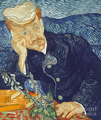 Portrait Of Dr Gachet Poster by Vincent Van Gogh