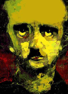 Portrait Of Edgar Allan Poe  Poster by Jim Vance