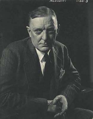 Portrait Of Edward P. Mulrooney Poster
