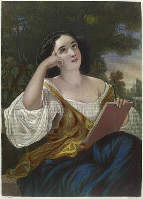 Portrait Of Eleanore Poster