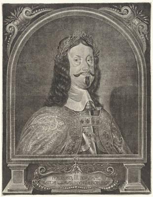Portrait Of Emperor Ferdinand IIi, Ludwig Von Siegen Poster by Ludwig Von Siegen