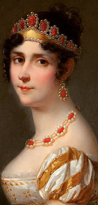 Portrait Of Empress Josephine Poster