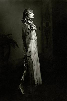 Portrait Of Estelle Winwood Poster