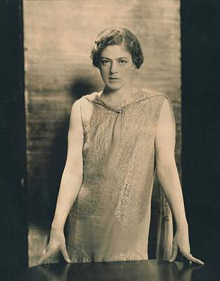 Portrait Of Ethel Barrymore In The Constant Wife Poster