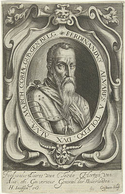 Portrait Of Ferdinand Alvarez De Toledo, Duke Of Alva Poster