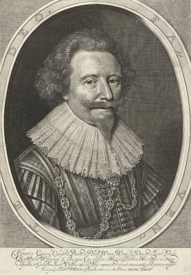 Portrait Of Floris II, Count Of Pallandtzaal Poster by Willem Jacobsz. Delff