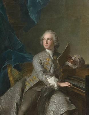 Portrait Of Francis Greville Poster