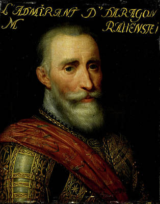 Portrait Of Francisco Hurtado De Mendoza Poster