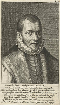 Portrait Of Franciscus Junius Poster