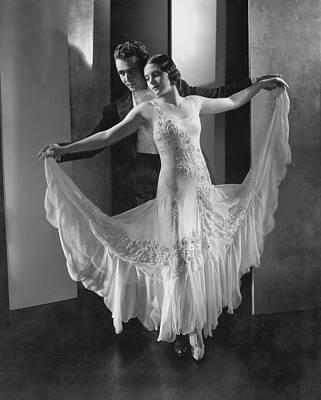 Portrait Of Frank And Yolanda Veloz Poster